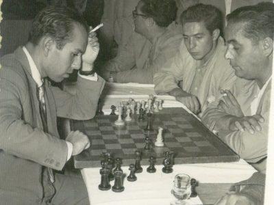 Pomar vs C Izquierdo en 1955